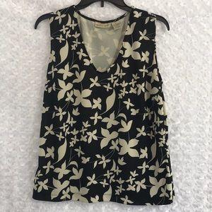 Apostrophe Stretch Womens Top Shirt Blouse Sz XL